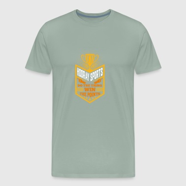 Hooray Sports Do The Thing Win Points Gift - Men's Premium T-Shirt