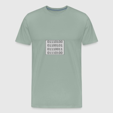 Binary Test - Men's Premium T-Shirt