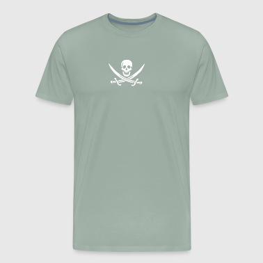 Skull Pirate - Men's Premium T-Shirt