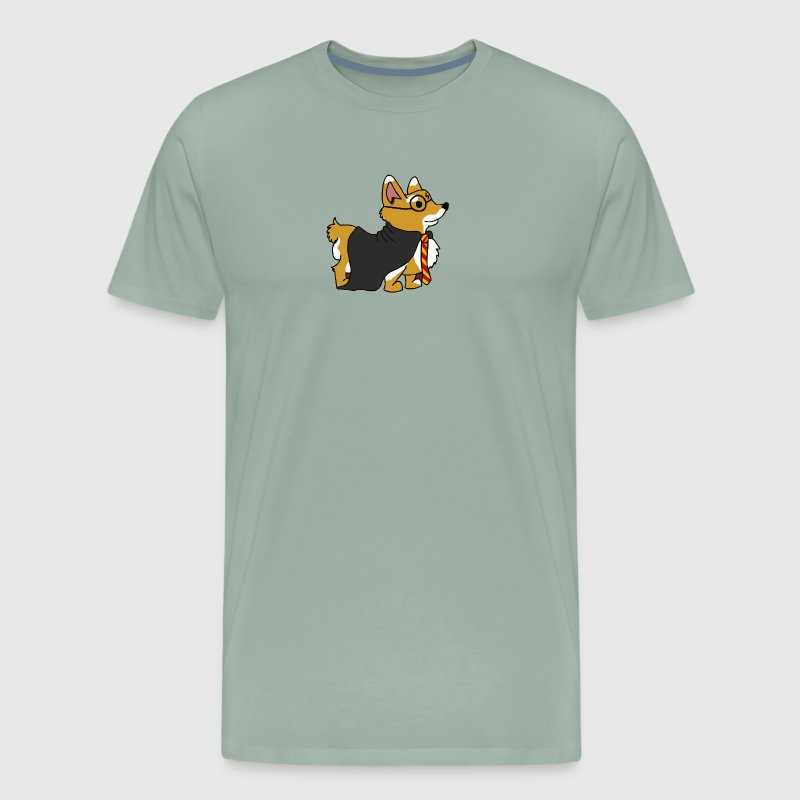 Corgi Potter - Men's Premium T-Shirt
