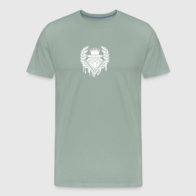 Dripping Diamond - Men's Premium T-Shirt