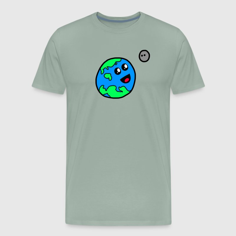 Planet Christopher and Moonie - Men's Premium T-Shirt