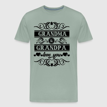 Grandma And Grandpa Love Me Shirt - Men's Premium T-Shirt