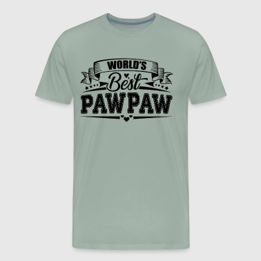 World's Best Pawpaw Shirt - Men's Premium T-Shirt