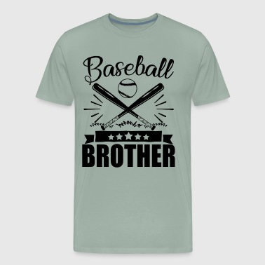 Baseball Brother Shirt - Men's Premium T-Shirt
