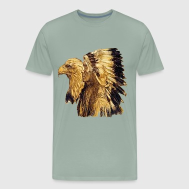 Indianer / Adler - Men's Premium T-Shirt