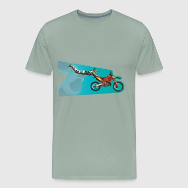 Freestyle motocross - Men's Premium T-Shirt