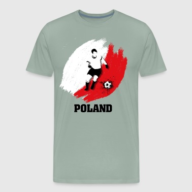 Support Poland National Soccer team! - Men's Premium T-Shirt