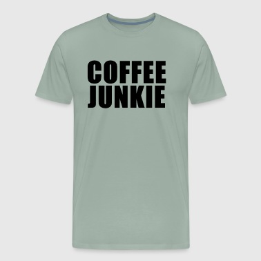 Coffee junkie - Men's Premium T-Shirt