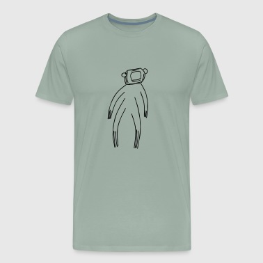 Hazmat Suite Drawing - Men's Premium T-Shirt