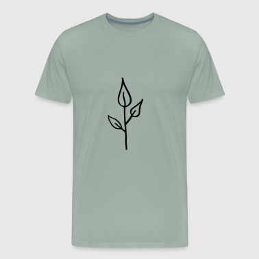 Young Life Nature, Seedling, young  Plant, Simple Life - Men's Premium T-Shirt
