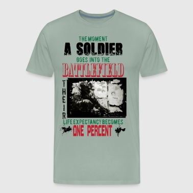 Soldier Support A Soldier - Men's Premium T-Shirt