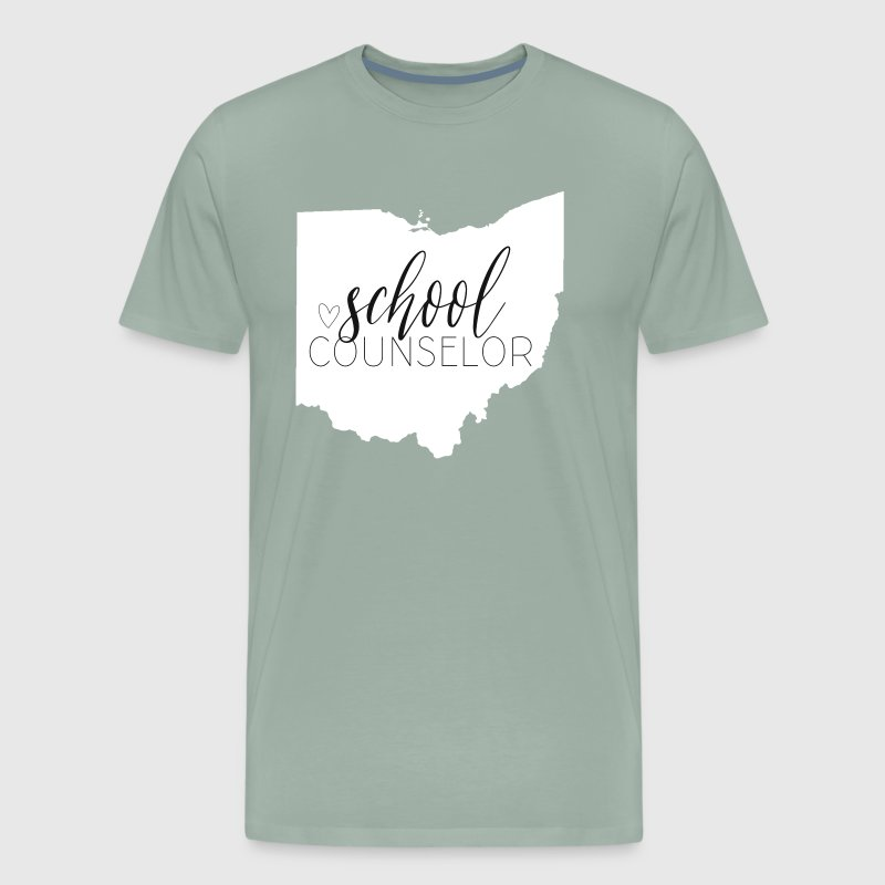 Ohio School Counselor - Men's Premium T-Shirt