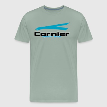 Cornier Sports Wear by HC - Men's Premium T-Shirt