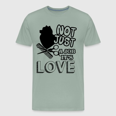 Love Dog Groomer Shirt - Men's Premium T-Shirt
