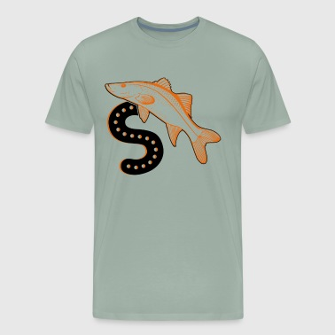 S Is For Snook Shirt - Men's Premium T-Shirt