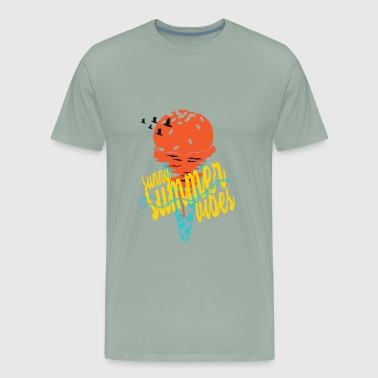 summervibes - Men's Premium T-Shirt