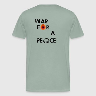 UCK-KLA War for a peace - GunsOfAlbania Design - Men's Premium T-Shirt