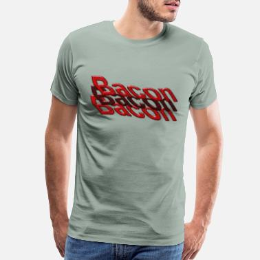 Awe bacon bacon bacon - Men's Premium T-Shirt