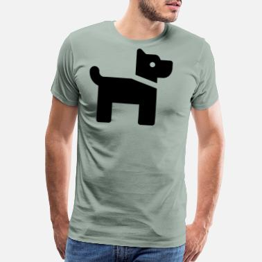 Doggie School Doggy - Men's Premium T-Shirt