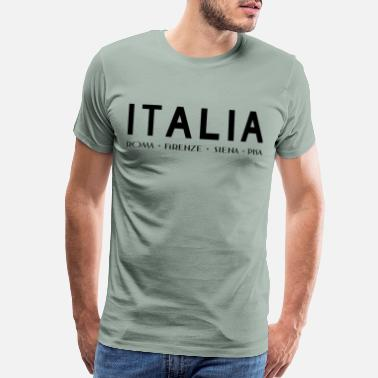 Italia Italia City black - Men's Premium T-Shirt