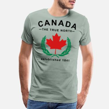 True North Strong Canada The True North Design - Men's Premium T-Shirt