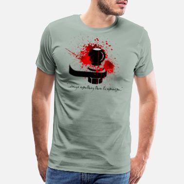 Check Engine Light Bloody Shin Checking Hitch Light Shirt Design - Men's Premium T-Shirt
