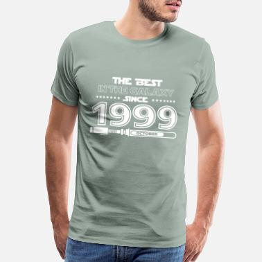 1999 The best in the galaxy since October 1999 - Men's Premium T-Shirt