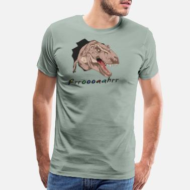 Inside Out trex roahr - Men's Premium T-Shirt