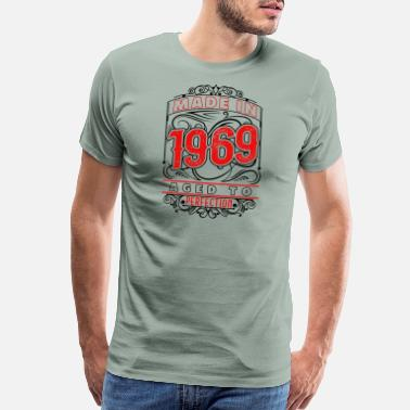 Born 1969 Birthday Age Year Gift Top Shirts Hemden Made In Vintage T Shirt