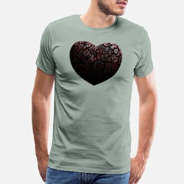 Dracula Dark black heart - Men's Premium T-Shirt