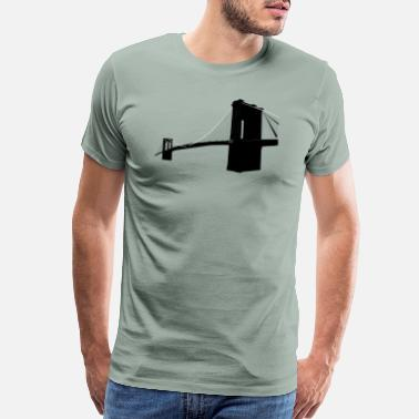 Brooklyn Bridge Brooklyn Bridge - Men's Premium T-Shirt