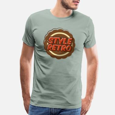 Retro Style Style Retro - Men's Premium T-Shirt