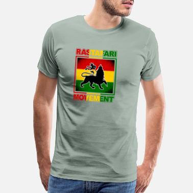 Bob Marley Reggae Rastafari Movement - gift - Men's Premium T-Shirt