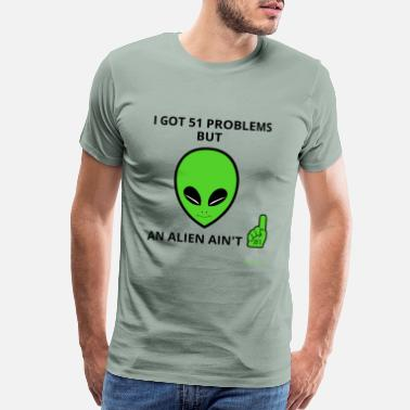 1947 And Alien and a Quote - Men's Premium T-Shirt