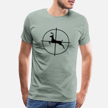 Head Shot Hunter - Men's Premium T-Shirt