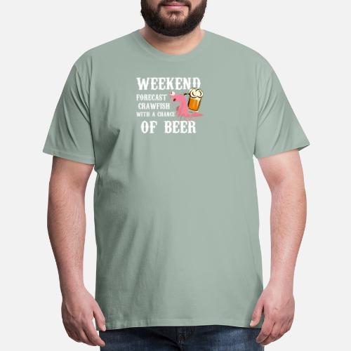 20aec8123 Funny Novelty Gift For Crawfish Lover Men's Premium T-Shirt ...