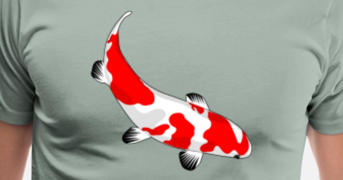 ddd4f056156d04 Koi Carp Fish Japan Japanese Lake Pool Poon Gift Men's Premium T-Shirt |  Spreadshirt