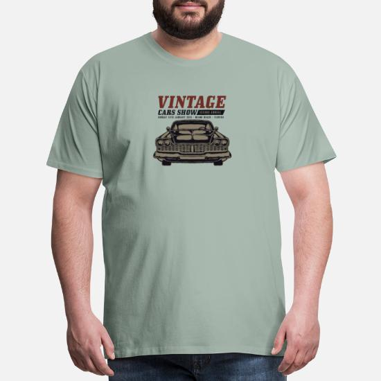 Muscle Car Show Men's Premium T-Shirt | Spreadshirt