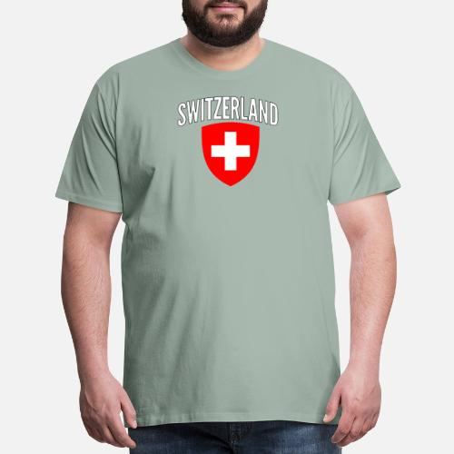 39880048c Men s Premium T-ShirtSwitzerland World Soccer Cup Jersey Football 2018