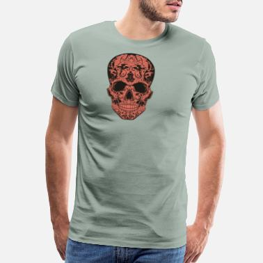 Tribal Dragon skull dragon tribal - Men's Premium T-Shirt