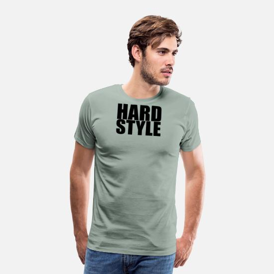 Jumpstyle T-Shirts - Hardstyle - Men's Premium T-Shirt steel green
