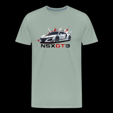 NSX GT3 - Men's Premium T-Shirt
