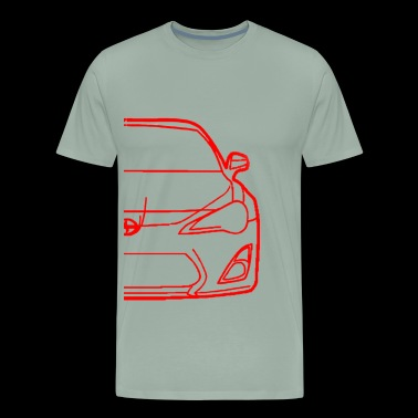 FR-S OUTLINE - Men's Premium T-Shirt