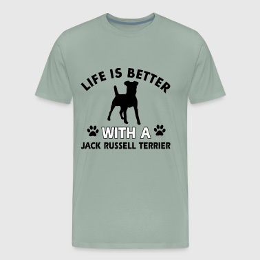 JACK RUSSELL TERRIER DOG BREED - Men's Premium T-Shirt