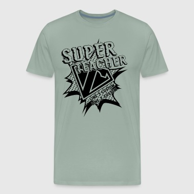 Super Hero Teacher Shirt - Men's Premium T-Shirt