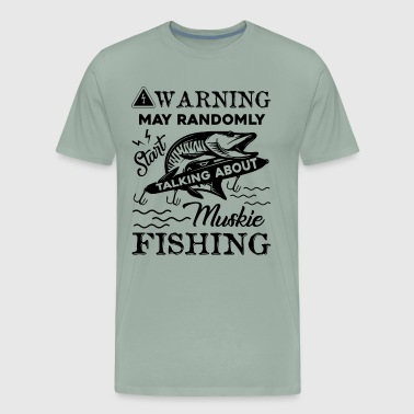 Talk About Muskie Shirt - Men's Premium T-Shirt