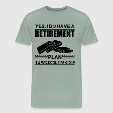 Plan On Reading Book Shirt - Men's Premium T-Shirt