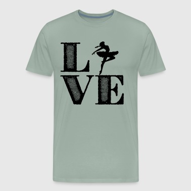 Ballet Girl Love Shirt - Men's Premium T-Shirt
