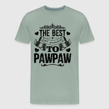 The Best Get Promoted To Pawpaw Shirt - Men's Premium T-Shirt